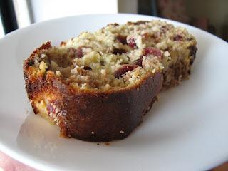 The Good Eatah: Coconut Flour Cranberry Walnut Bread