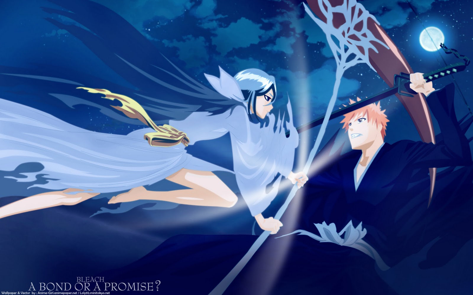Bleach HD & Widescreen Wallpaper 0.520765166169152