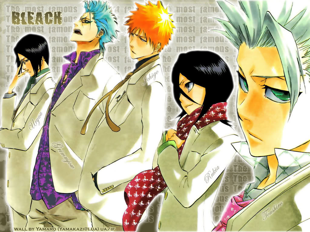 Bleach HD & Widescreen Wallpaper 0.804587222562445