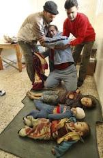 SONO MOLTISSIMI I BAMBINI A GAZA UCCISI DAI RAIDS ISRAELIANI