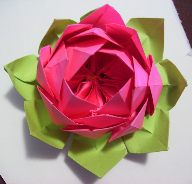 Lotus Napkin Fold Easy : How To Fold An Origami Lotus Flower Origami  Apps Directories