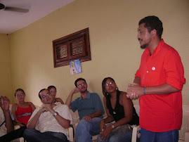 Eudes no congresso da JPT em Acaraú