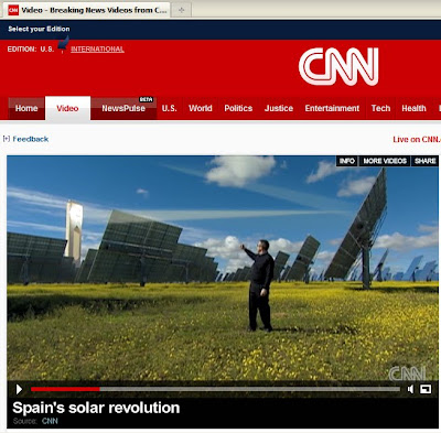 solar power tower spain. But video really brings it to life: Just check out CNN International#39;s 7-minute news video, Spain#39;s Solar Revolution. Wow!