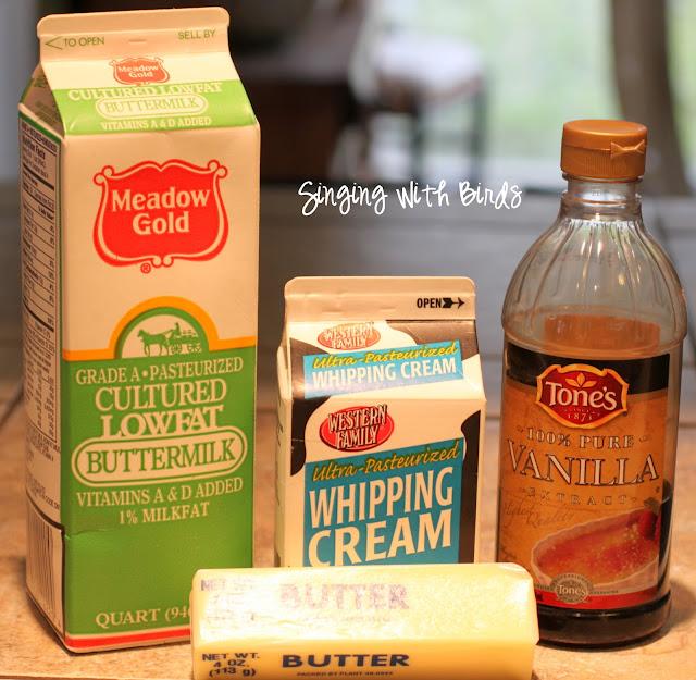 Buttermilk Pound Cake / cheery kitchen.com