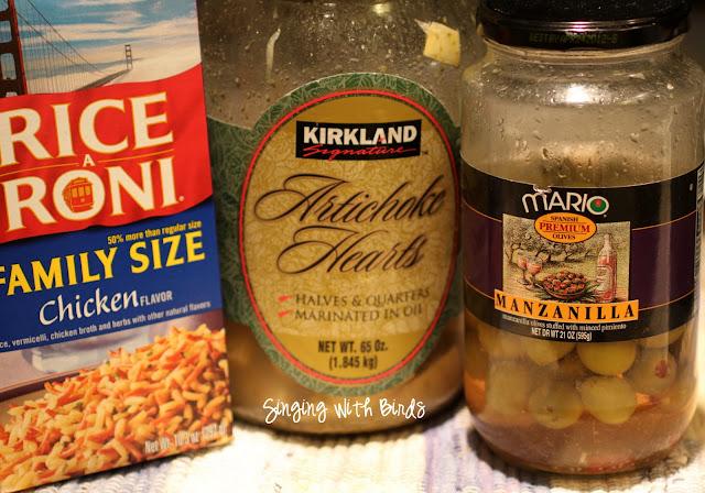 Curried Artichoke Rice Salad - Cheery Kitchen
