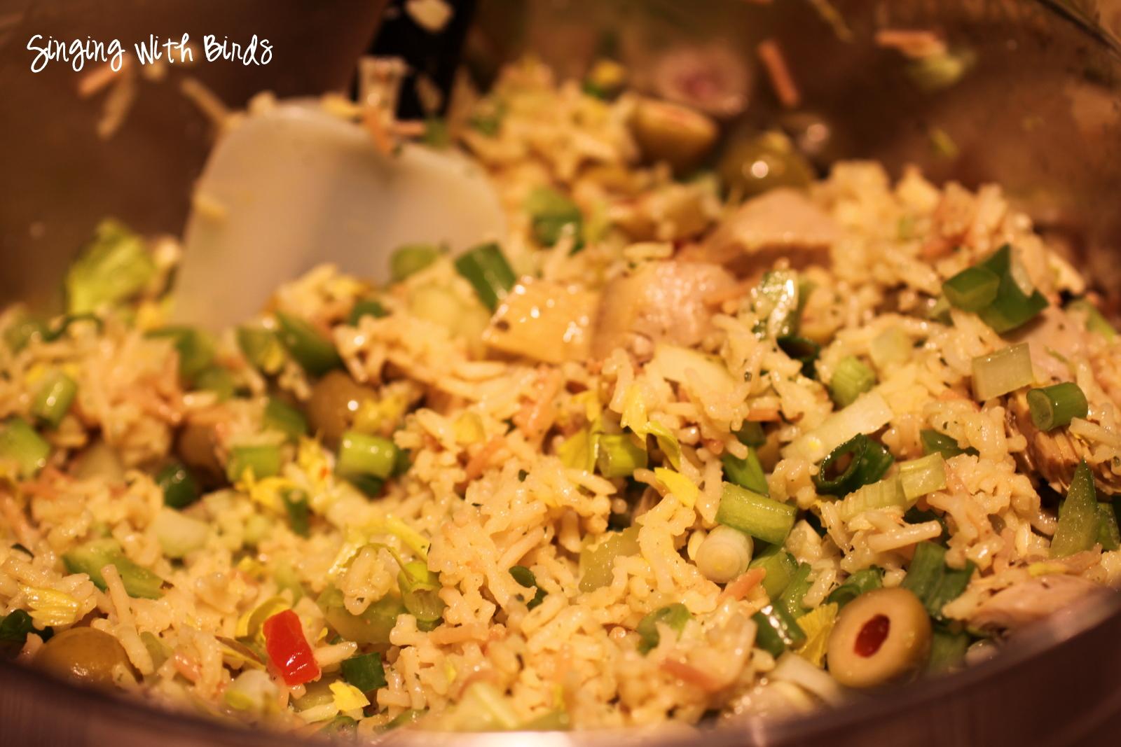 Curry Artichoke Rice Salad Recipe — Dishmaps