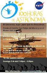 100 HORAS DE ASTRONOMIA EN SAN JUAN, PUERTO RICO