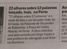 """livro """"22 OLHARES SOBRE 12 PALAVRAS"""""""
