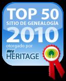 Premio 2010 Myheritage.com