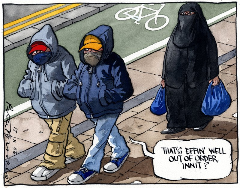 burka i skolan