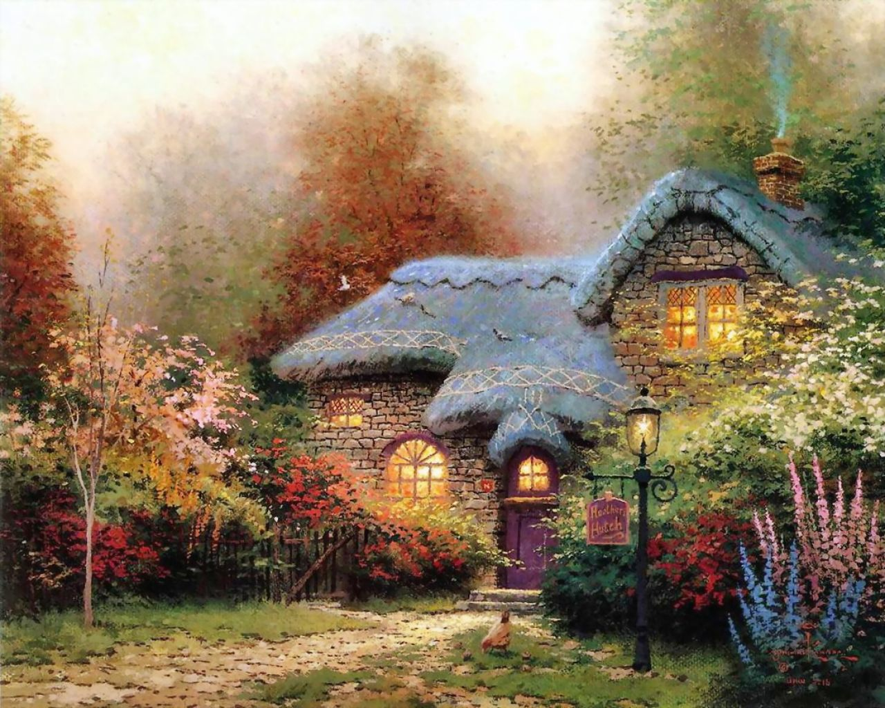 Experimental Theology The Thomas Kinkade Effect