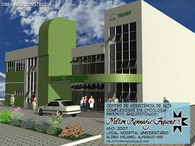 Projetos Hospital Alzira Velano Unifenas - Milton Kennedy