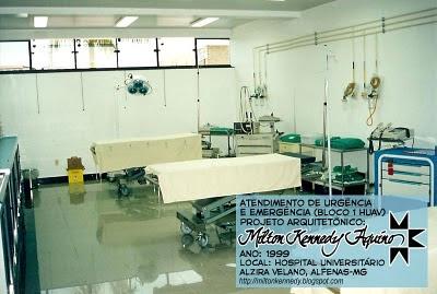Hospital Universitário Alzira Velano - Sala de Emergência
