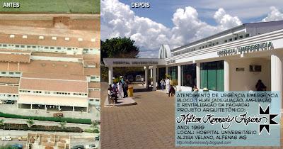 Hospital Alzira Velano Unifenas Alfenas - Milton Kennedy