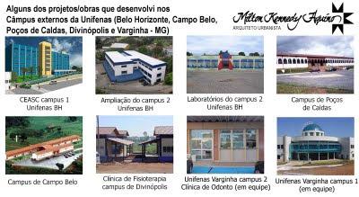 Campus Unifenas - Belo Horizonte, Poços de Caldas, Divinópolis, Campo Belo