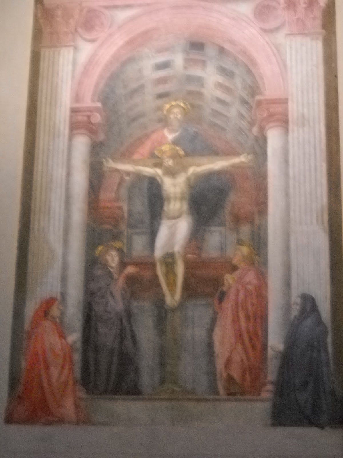 trinity virgin Holy masaccio with