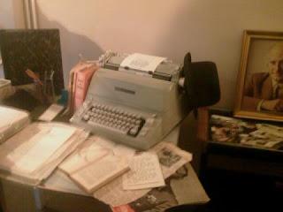 Keen's desk
