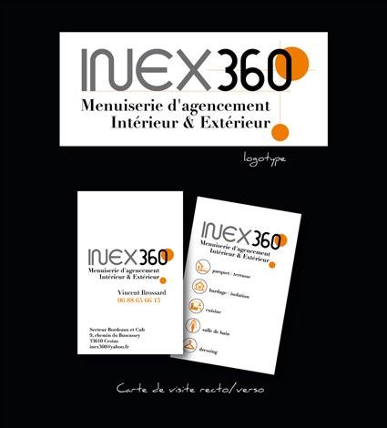 Création de charte graphique pour Inex 360