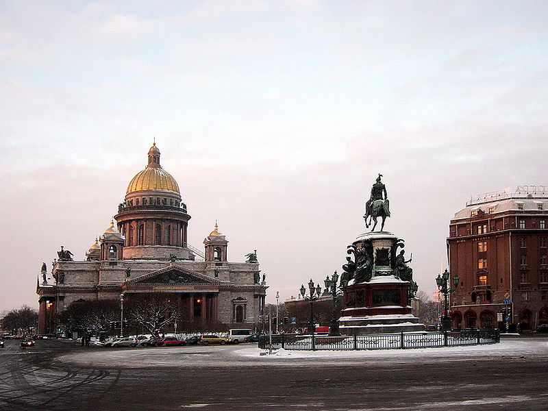 Documental sobre San Petersburgo(Rusia)