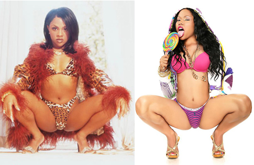photos of nicki minaj before and after surgery. nicki minaj before she