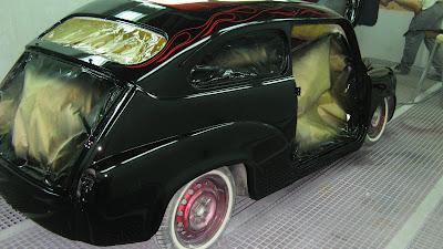 Paso a paso la modifacion a terrible Fiat 600!!!
