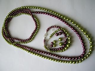 biżuteria z półfabrykatów - perły wersja 2 (wszystko razem)