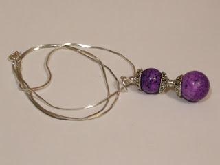 biżuteria z półfabrykatów - koral w baroku (naszyjnik)