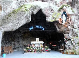 Грот Аве Мария в Брюсселе