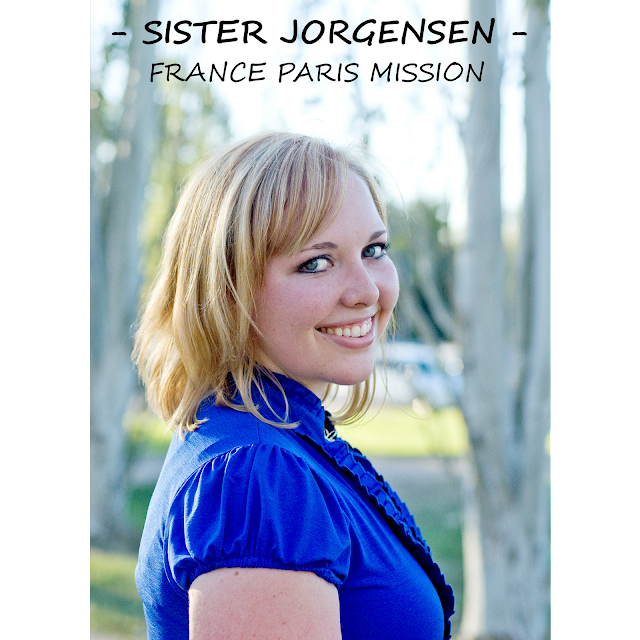 SISTER JORGENSEN - FRANCE PARIS MISSION