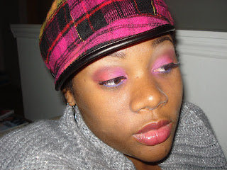 FOTD Friday: Hot Pink/Orange look