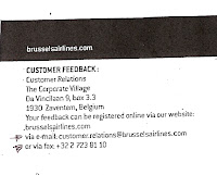 Itt vannak az SN Brussels Airlines elérhetőségei, panasz esetén