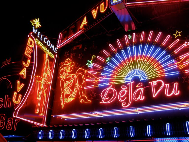 Neon lights at soi cowboy pt 1