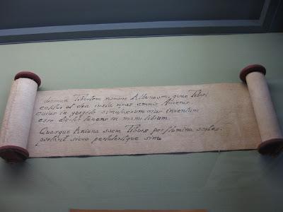Ancient Roman Writing