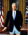 The Former President Posing For The Yated.....After His Mitzvah!