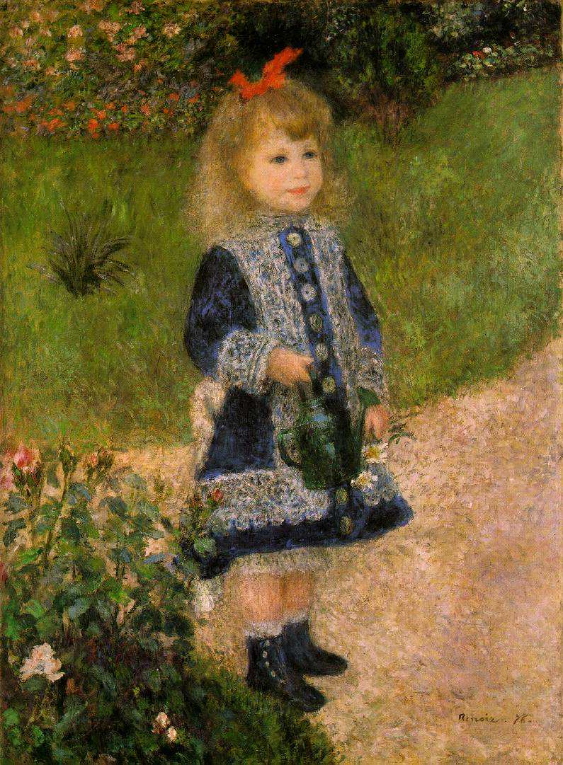 Opinion Renoir girl with flowers consider