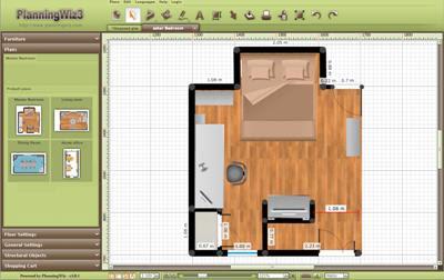 w w w m a i k d d e planningwiz der online raum planer. Black Bedroom Furniture Sets. Home Design Ideas