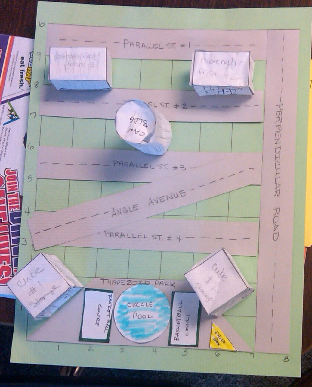 MrToneyHomeroom: Examples of Math Project