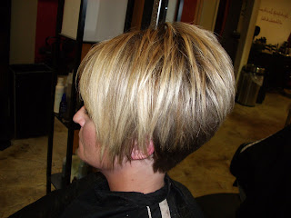 Style them fabulous high layered a line with tapered back