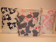 Handprinted Large Washbags