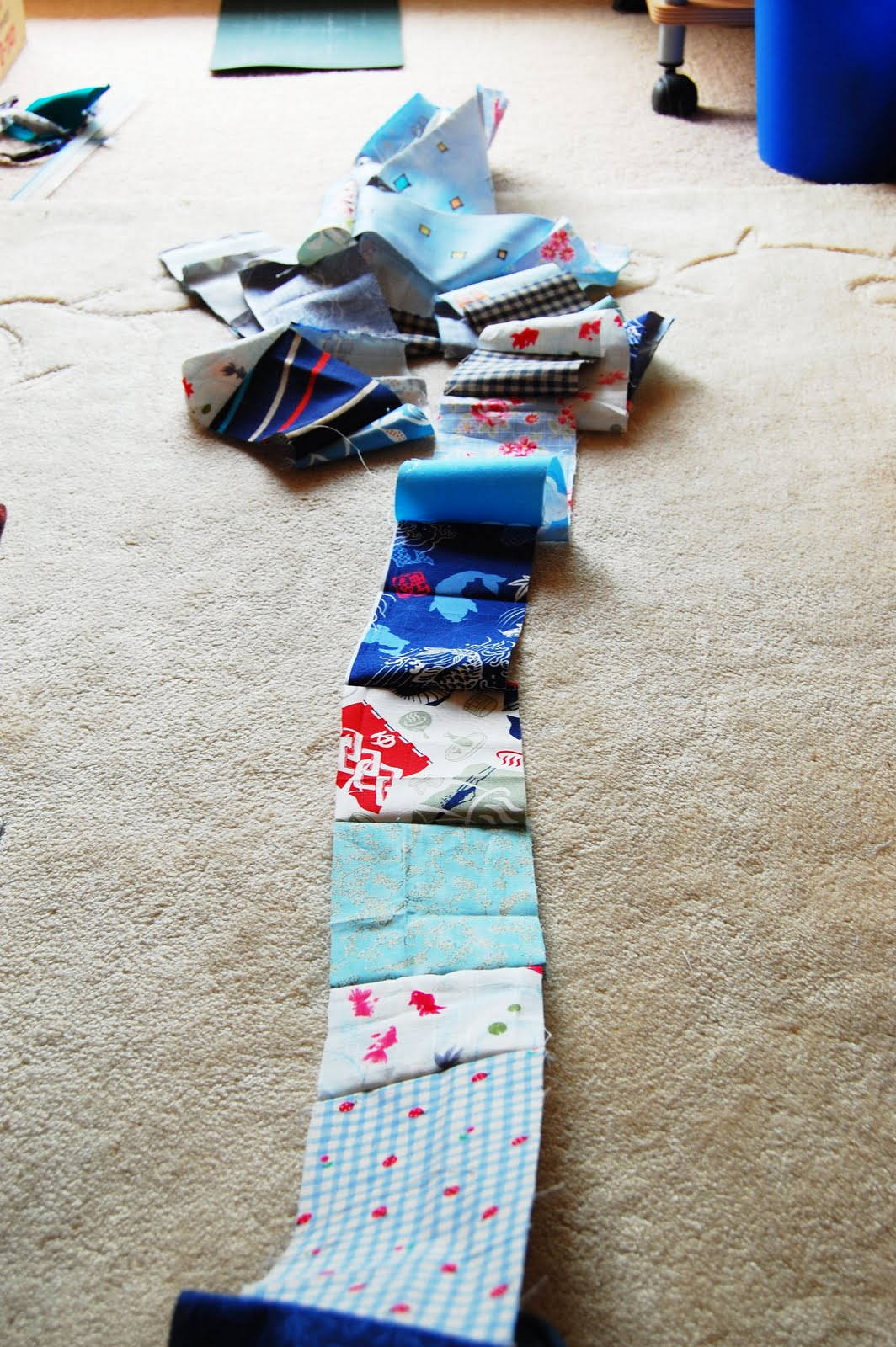 Mybotang fabric scrap series cards - Next Open The Seam And Press Iron You Could Straightaway Fold Them Like Bias Tape Or