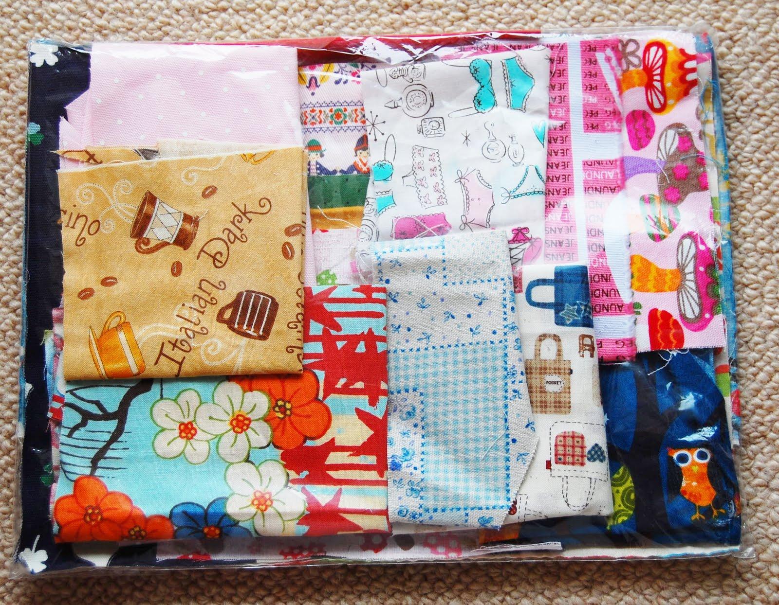 Mybotang fabric scrap series cards - Sb5 Back View