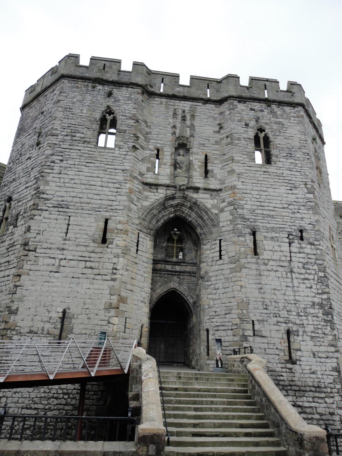 Caernarfon castle as you like it