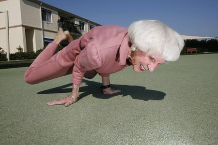 [granny+yoga]