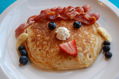 Chef Mommy Funny Face Pancakes