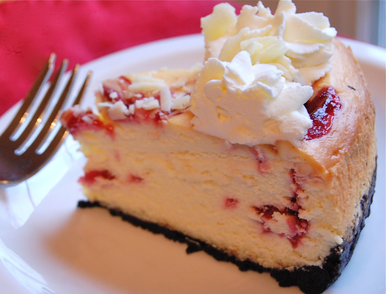 ... : Cheesecake Factory's White Chocolate Raspberry Truffle Cheesecake