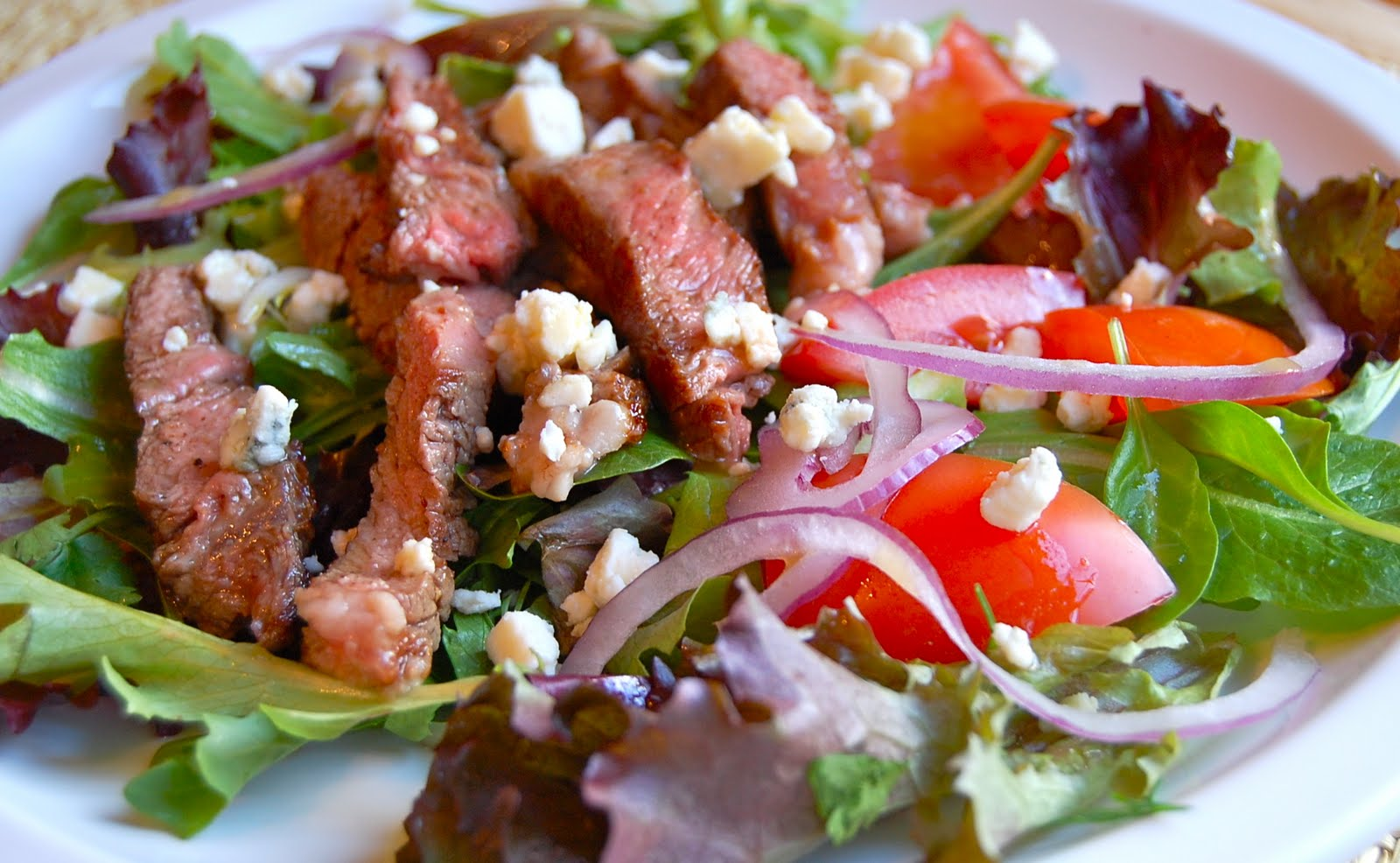 Chef Mommy: Steak Salad