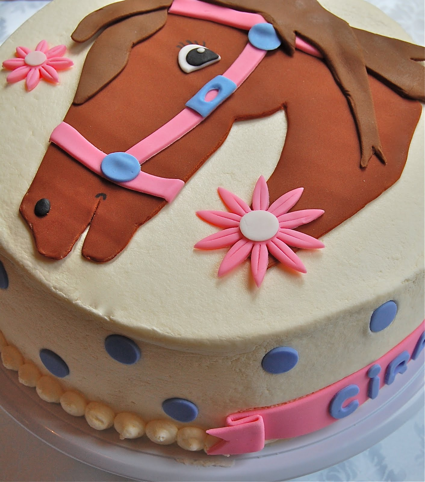 Chef Mommy Giddy Up Cake