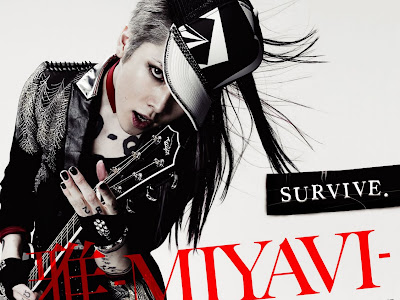 Miyavi : Estrenando Look & preview  SURVIVE DVD