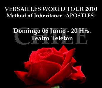 Fans de Versailles en Chile: Llenemos el Teleton con rosas!