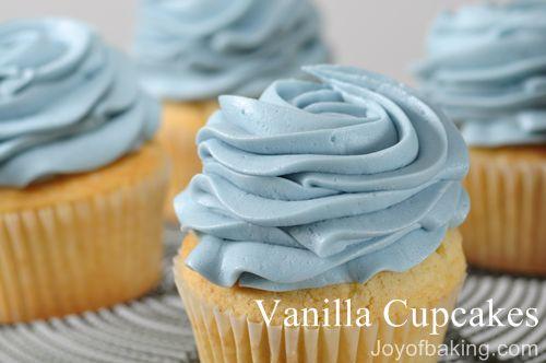 12 Vanilla Cupcake Recipe
